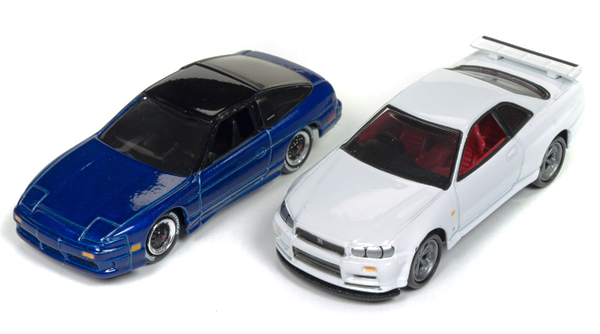 JLSP041 - Johnny Lightning Import Heat Two Car Set Set