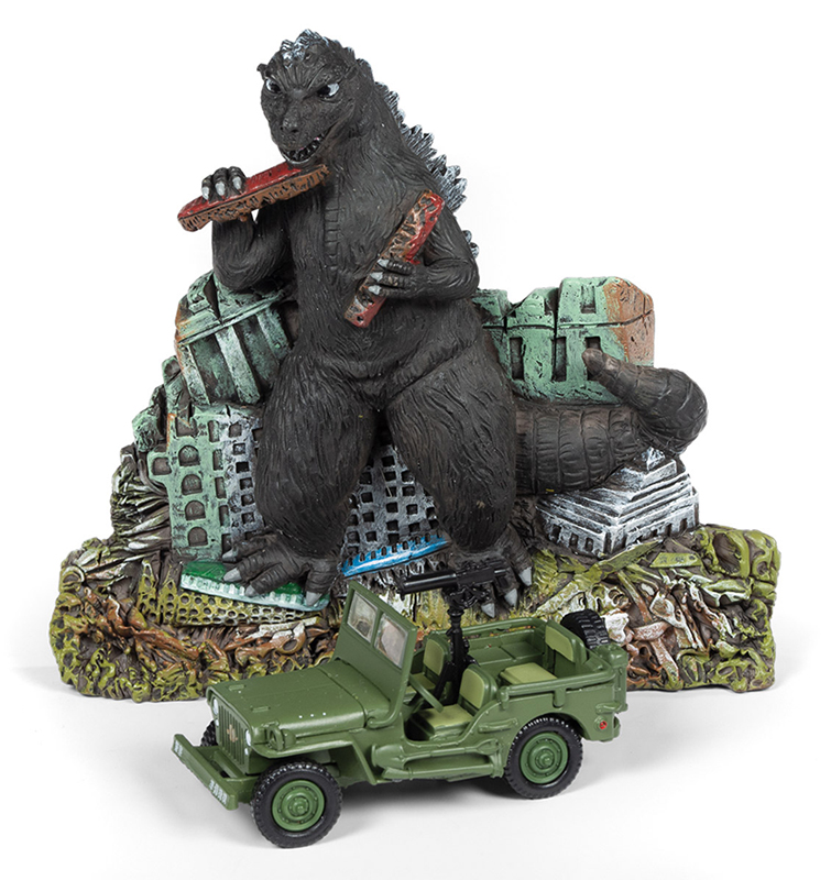 JLSP065 - Johnny Lightning Godzilla Facade