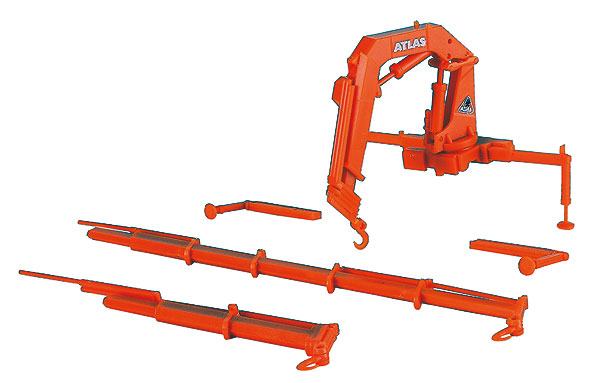 10988 - Kibri Atlas Truck Mount Loading Crane 2 Piece