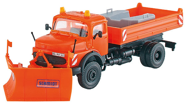 15001 - Kibri Schmidt Mercedes Benz Roundnosed Snow Plough