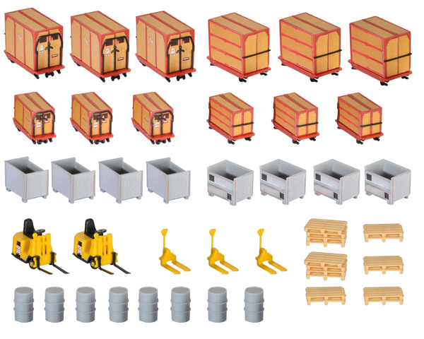 38647 - Kibri Crate and Freight Warehouse Details