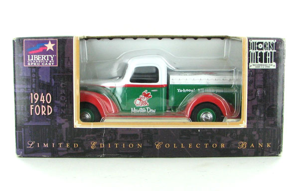 62548 - Liberty Mountain Dew 1940 Ford Pickup BANK