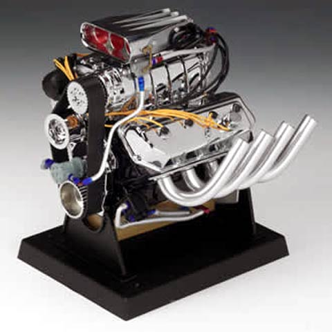 84028 - Liberty Hemi Top Fuel Dragster Engine