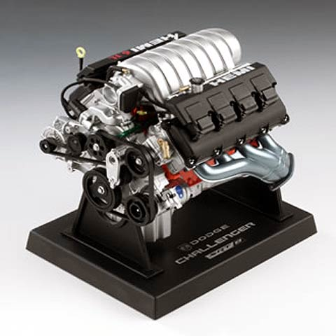 84033 - Liberty Dodge Challenger 61L Engine All engines
