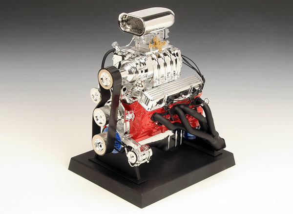 84035 - Liberty Chevrolet Blown Hot Rod Engine Replica