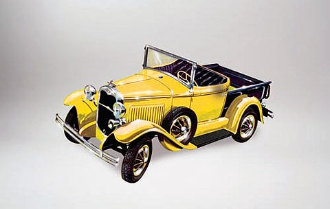 72134 - Lindberg 1930 Ford Model A Pickup Unassembled