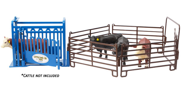 500245 - Little Buster Priefert Working Cattle Chute Playset