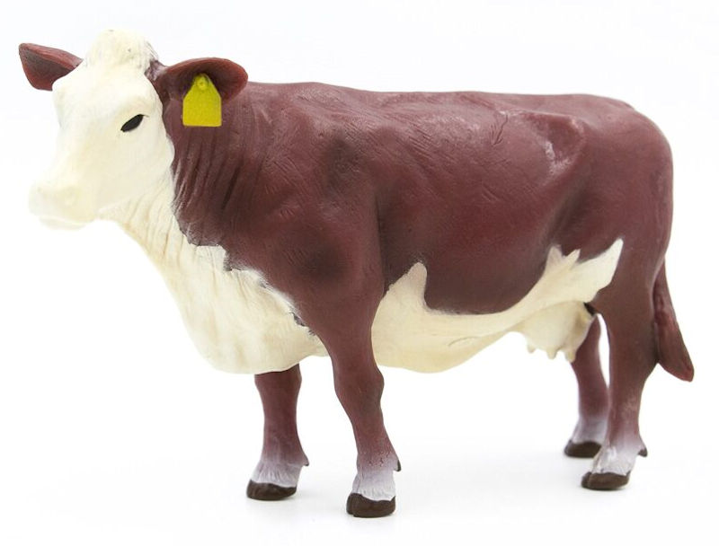 500257 - Little Buster Hereford Cow SUPER DURABLE construction Bring