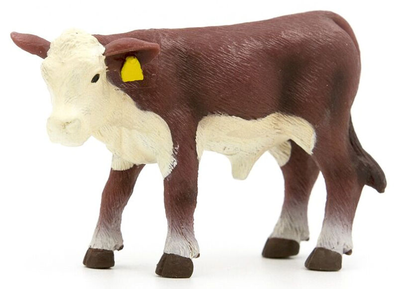 500263 - Little Buster Hereford Calf SUPER DURABLE construction Bring