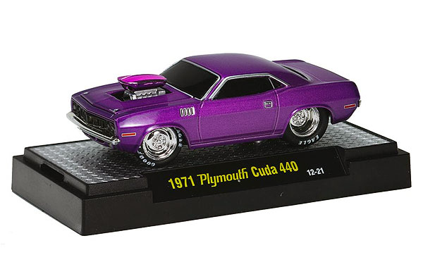 31600-DC02A-B - M2machines Detroit Cruisers Release 2A 1971 Plymouth