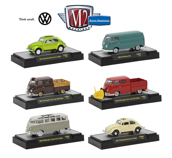 32500-VW04-CASE - M2machines Volkswagen Release 4 6 Piece High