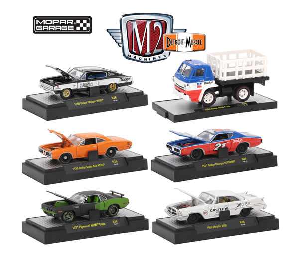 32600-36-CASE - M2machines Detroit Muscle Release 36 Mopar Garage