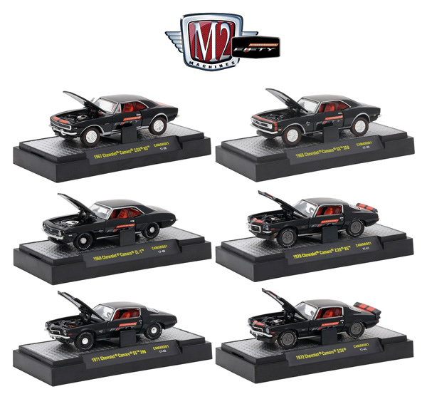 32600-CAM01-CASE - M2machines Chevrolet Camaro 50th Anniversary Collection 6