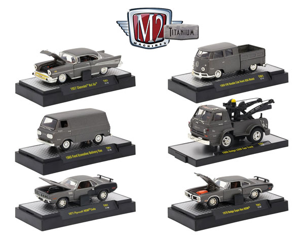 32600-TI01-CASE - M2machines M2 Titanium Release 01 6 Piece