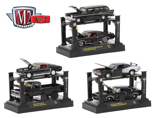 33000-S05-CASE - M2machines Auto Lift Release S05 All Black