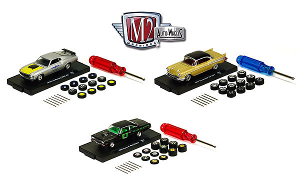 34001-01-SET - M2machines Auto Wheels Release 1 3 Piece