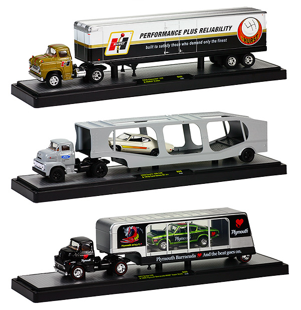36000-09A-SET - M2machines Auto Haulers Release 9A Three Piece