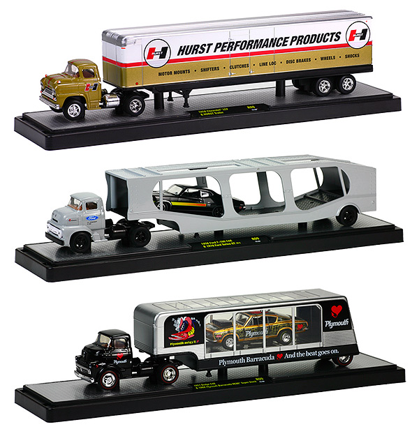 36000-09B-SET - M2machines Auto Haulers Release 9B Three Piece