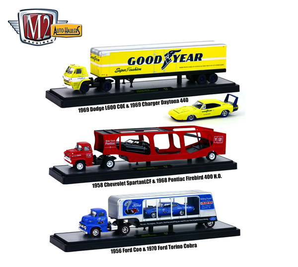 36000-19B-SET - M2machines Auto Haulers Release 19B 3 Piece