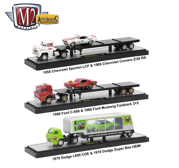 36000-21-SET - M2machines Auto Haulers Release 21 3 Piece Set