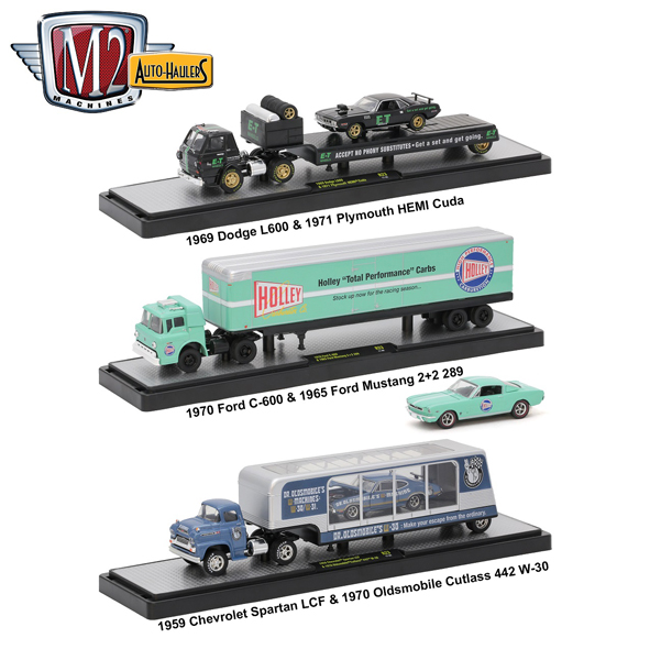 36000-23-SET - M2machines Auto Haulers Release 23 3 Piece