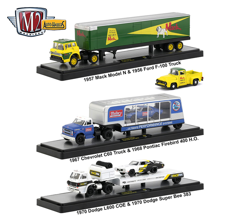 36000-32-SET - M2machines Auto Haulers Release 32 3 Piece Set