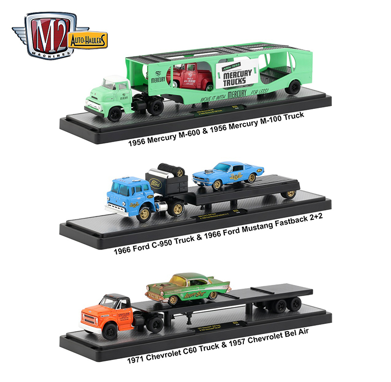 36000-33-SET - M2 Machines Auto Haulers Release 33 3 Piece Set