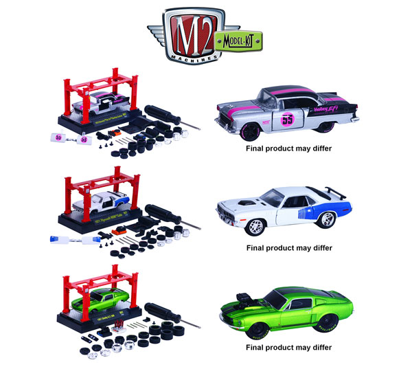 37000-07-CASE - M2machines M2 Model Kit Release 7 5 Piece