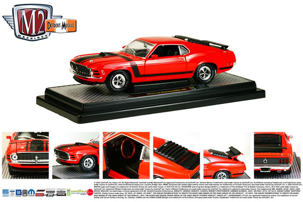 40300-48A - M2machines 1970 Ford Mustang BOSS 302