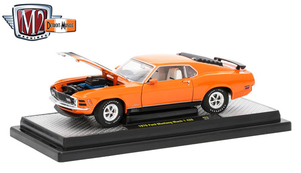 40300-53D - M2machines 1970 Ford Mustang Mach 1 428