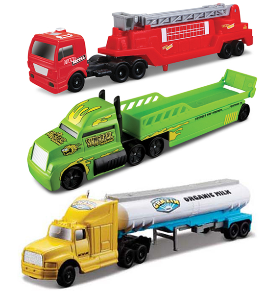 14070-H - Maisto Highway Haulers 3 Piece SET SET