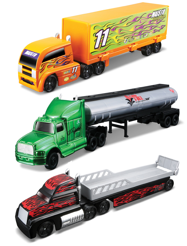 14070-I - Maisto Highway Haulers 3 Piece SET SET