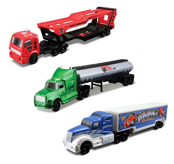 15021-SET-C - Maisto Fresh Metal Highway Haulers 3 Piece