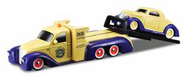15055-O - Maisto Missile Tow Flatbed Truck