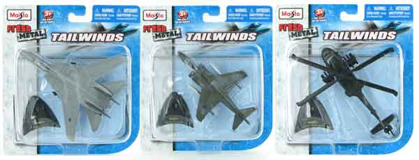 15061-SET-D - Maisto Diecast Military Aircraft 3 Piece SET Fresh Metal
