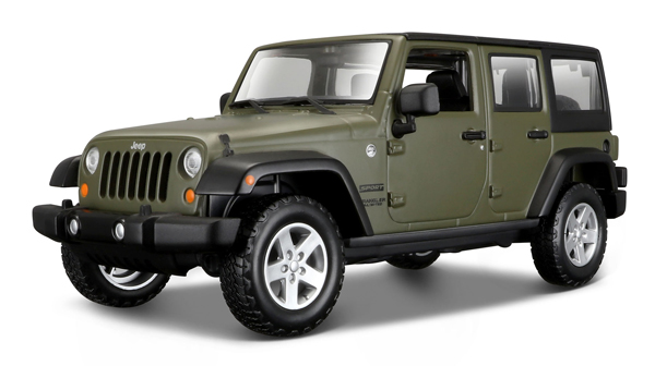 31268G - Maisto 2015 Jeep Wrangler Unlimited