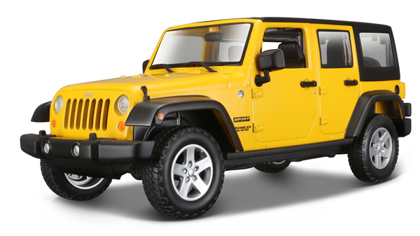 31268Y - Maisto 2015 Jeep Wrangler Unlimited
