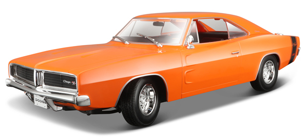 31387OR - Maisto Diecast 1969 Dodge Charger