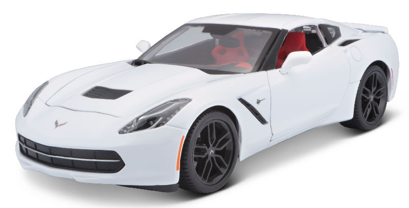 31677WT - Maisto 2014 Chevrolet Corvette Stingray Z51