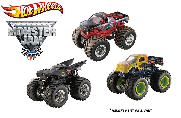21572L-16-CASE - Mattel Hot Monster Jam Series L