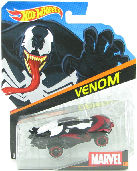 BDM79 - Mattel Venom Hot Marvel Character Car