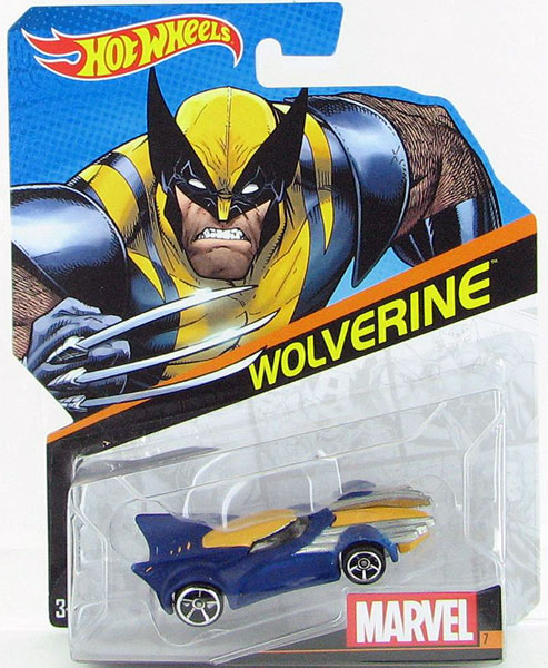 BDM81 - Mattel Wolverine Hot Marvel Character Car