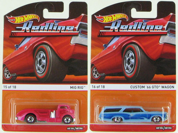 BDP91F-SET2 - Mattel Hot Heritage 2 Piece Set