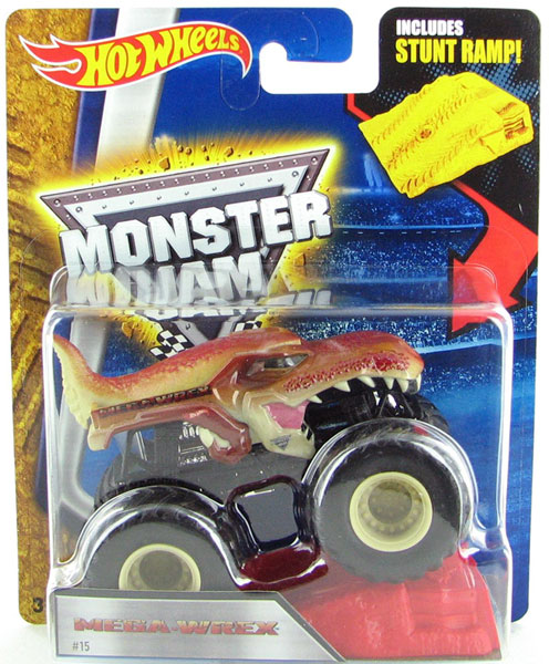 CCK62 - Mattel Mega Wrex Hot Monster Jam