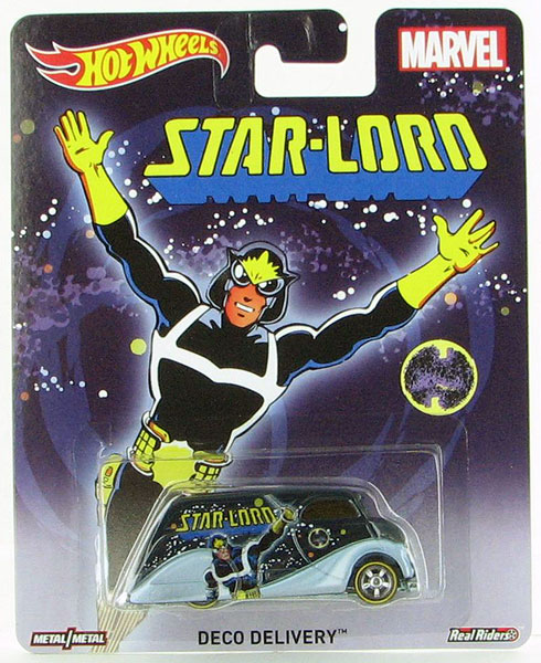CFP61 - Mattel Star Lord Deco Delivery Hot