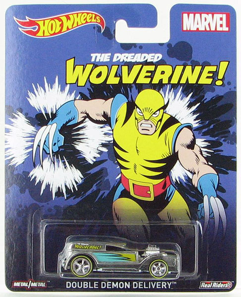 CFP63 - Mattel Wolverine Double Demon Delivery Hot