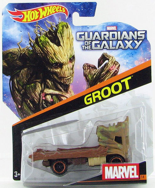 CGD56 - Mattel Groot Hot Marvel Character Car
