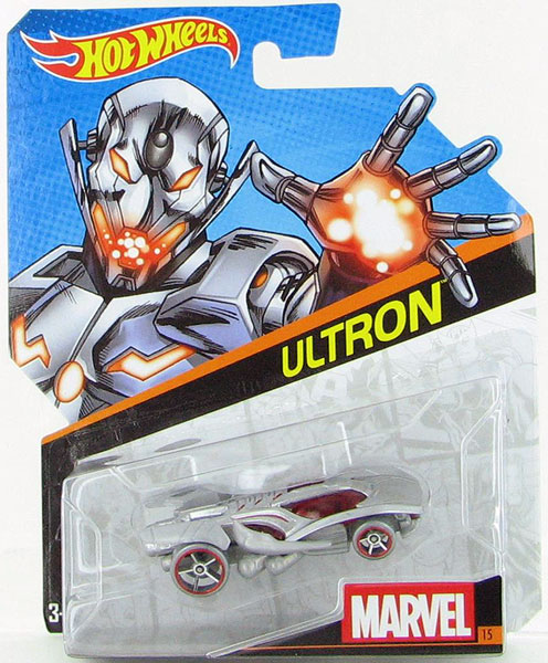 CGD60 - Mattel Ultron Hot Marvel Character Car