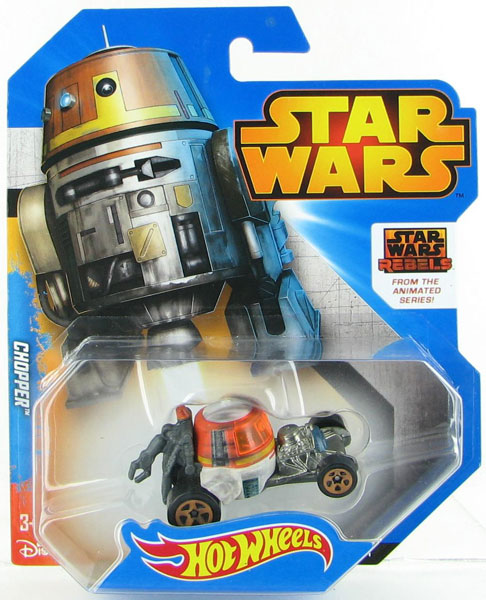 CGW46 - Mattel Chopper Hot Star Wars Character Car
