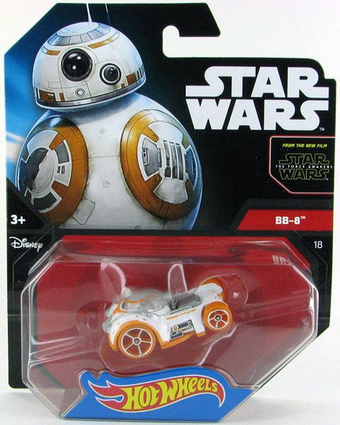 CGW51 - Mattel BB 8 Hot Star Wars